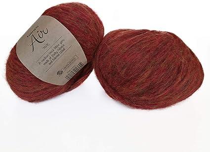 Baby Alpaca y lana de merino, 4 tamaño mediano, Worsted, Aran, Drops Air, 1.8 onzas 164 yardas: Amazon.es: Juguetes y juegos