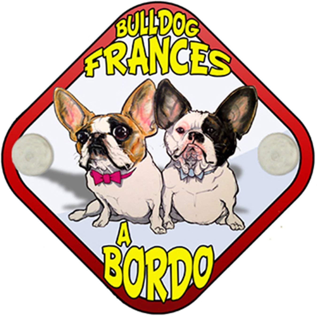 Placa bebé a bordo Bulldog Francés a bordo perro a bordo ...