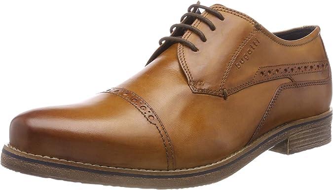 TALLA 40 EU. bugatti 3.11299e+11, Zapatos de Cordones Derby para Hombre