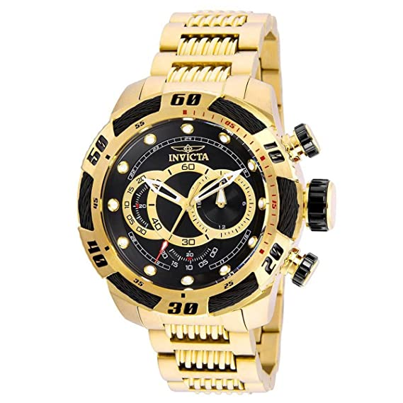 Amazon.com: Invicta 25484 Mens Speedway Yellow Steel Bracelet Chrono Watch: Invicta: Watches