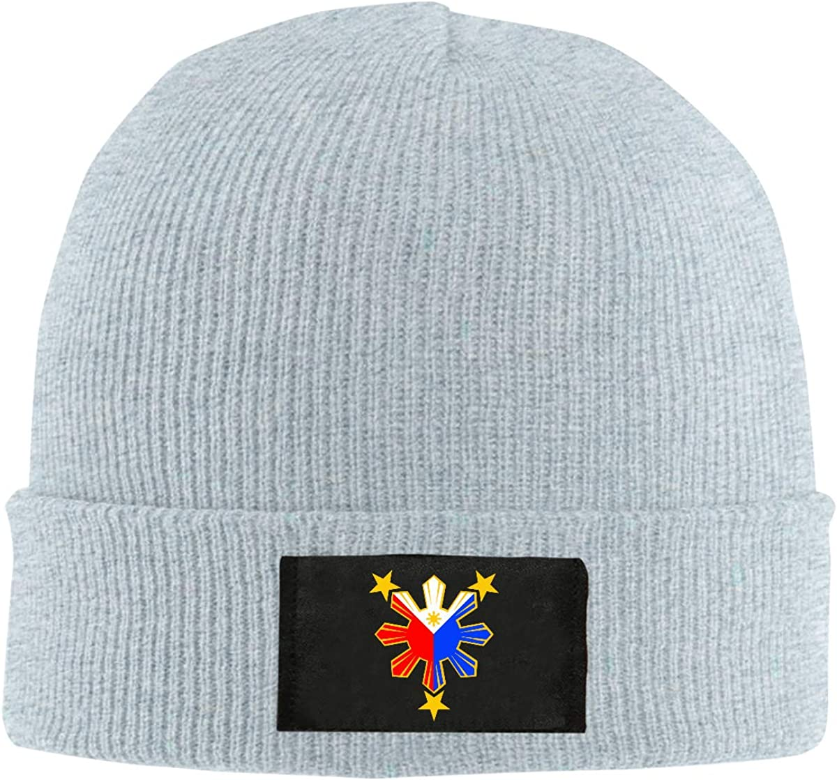 100/% Acrylic Fashion Skiing Cap BF5Y6z/&MA Mens and Womens Flag of The Philippines Knitting Hat