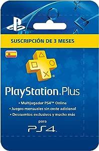 Sony - PSN Plus Tarjeta 90 Días - Reedición (Playstation 4): Sony ...