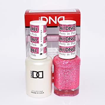 Amazon.com : DND *Duo Gel* (Gel & Matching Polish) Glitter Set 461 ...