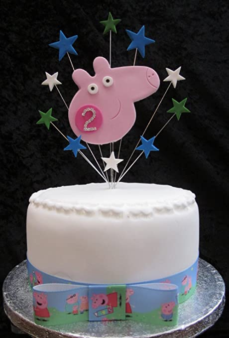 Karens Cake Toppers 2 nd cumpleaños Decoración para Tarta ...