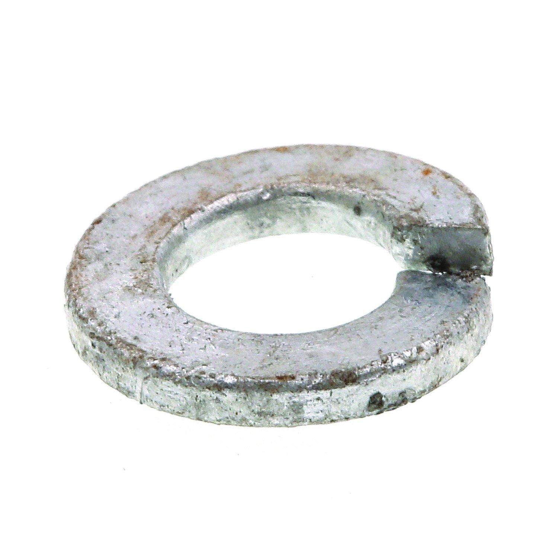 Prime-Line 9082098 Medium Split Lock Washers, 1/4 in., Hot Dip Galvanized Steel, 100-Pack