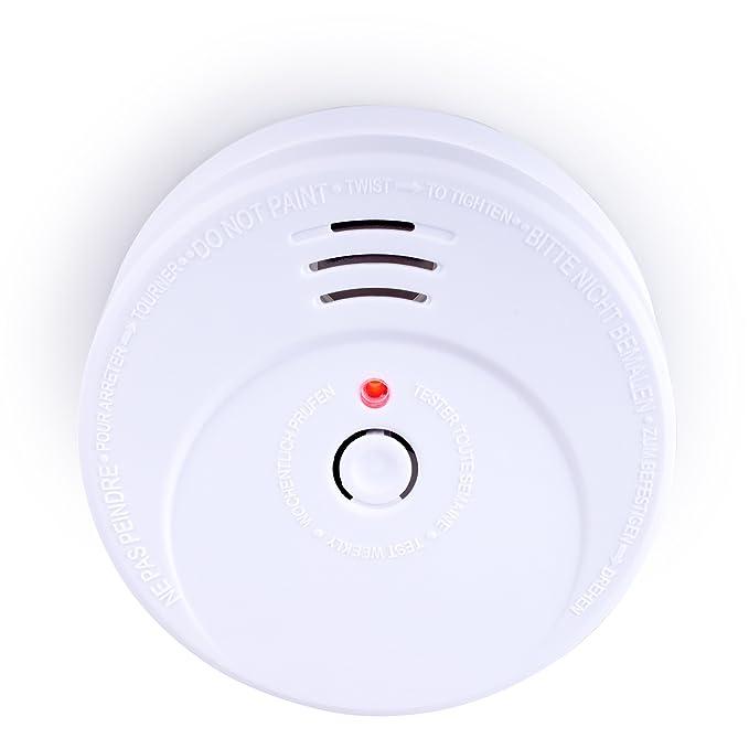 Smartwares RM149 Detector de Humo 9 V, Blanco: Amazon.es: Bricolaje y herramientas