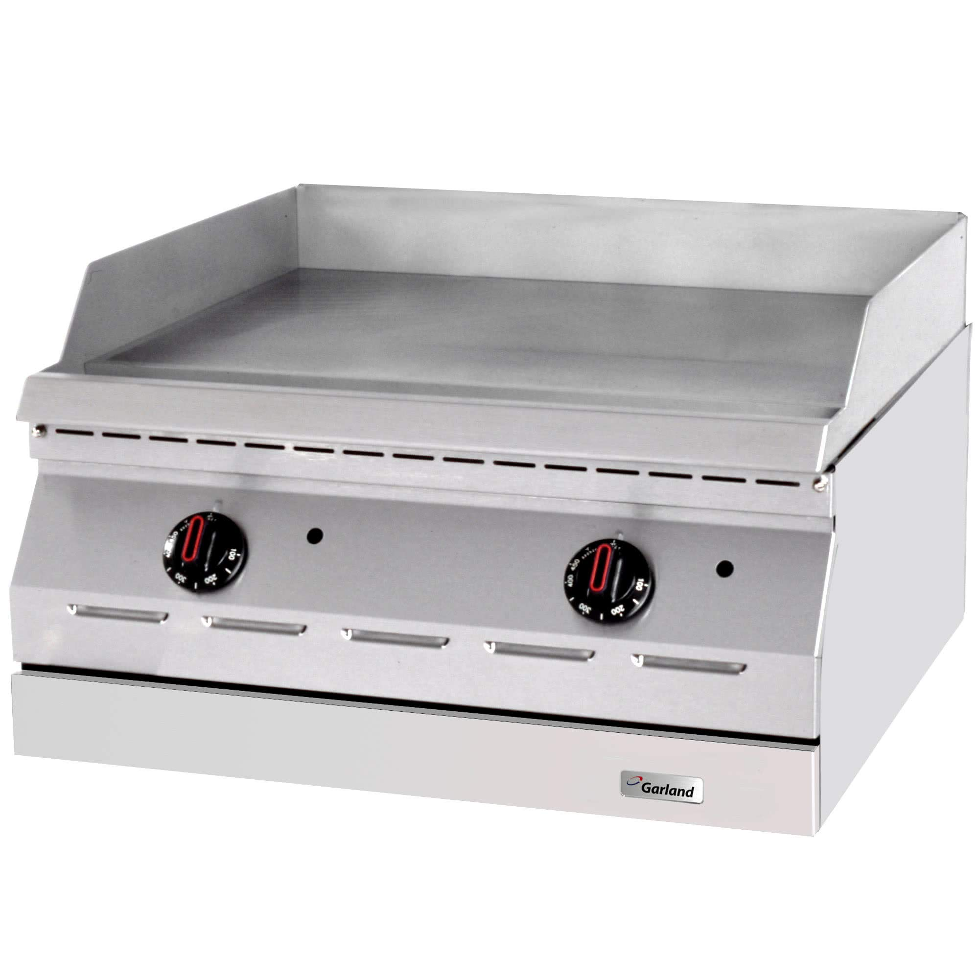 TableTop King ED-36G Designer Series 36'' Electric Countertop Griddle - 208V, 1 Phase, 10.1 kW by TableTop King