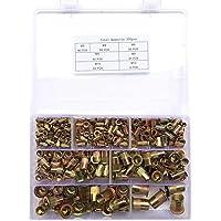 300 stuks klinknagelmoeren blindklinkmoer klinknagelmoeren assortiment set M3 M4 M5 M6 M8 M10 M12