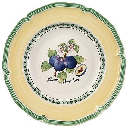 Villeroy & Boch French Garden Valence Plato Hondo, 23 cm, Porcelana Premium, Blanco