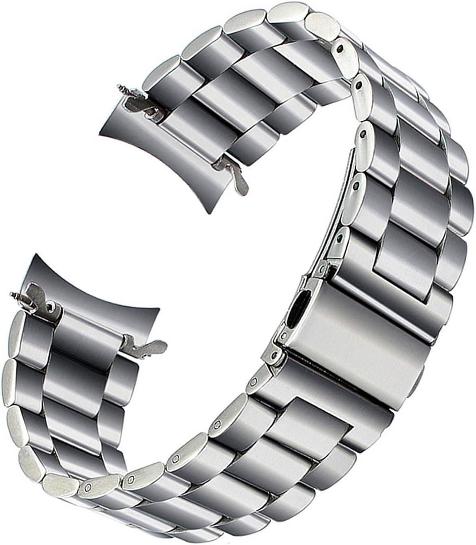 10 mm Homme Noir en Microfibre Cuir Poli Strass Bracelet en acier inoxydable