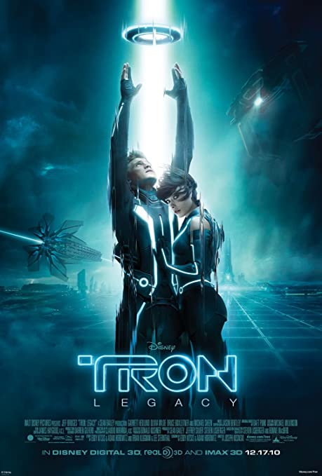 Image result for tron legacy movie poster