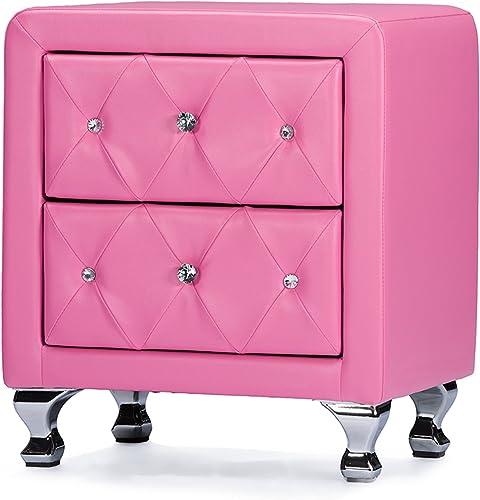 Baxton Studio 10725-6050-AMZ nightstands - a good cheap modern nightstand