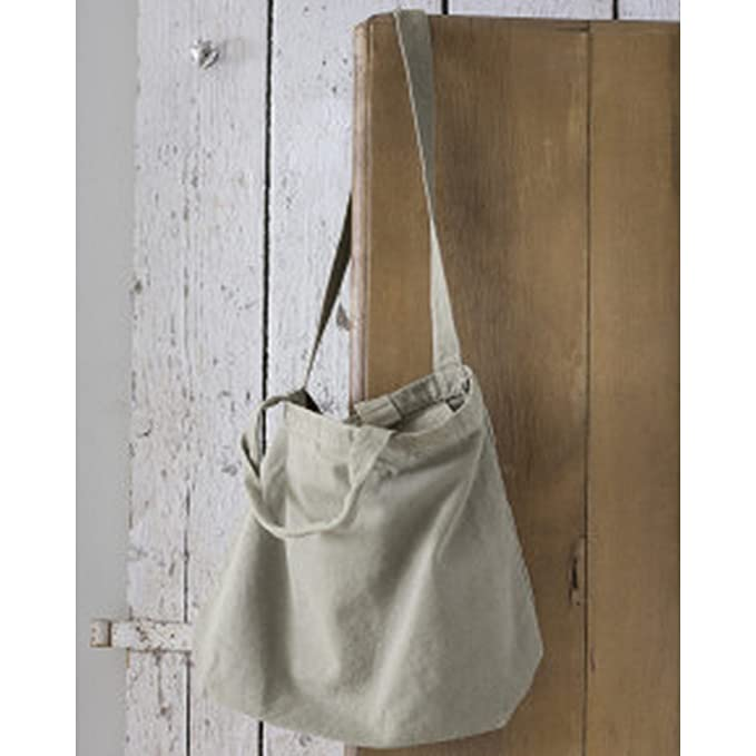 Amazon.com: Bags By Jassz Zipped Canvas Shopper (One Size ...