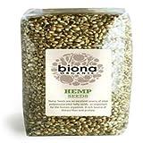 Biona Organic Whole Hemp Seeds, 250g