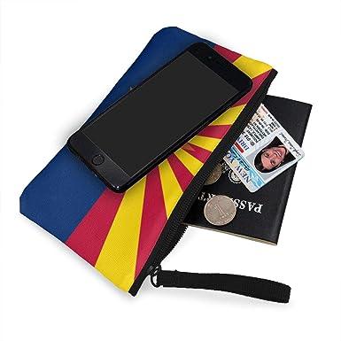 Amazon.com: Arizona - Monedero de lona con cremallera para ...