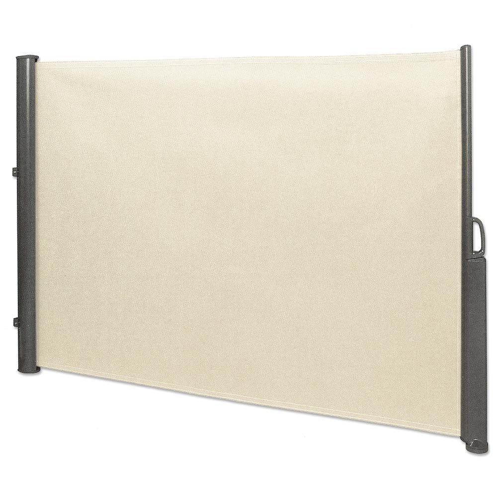 Amazon.de: Seitenmarkise 1, 8 x 3, 5 m beige Sichtschutz ...