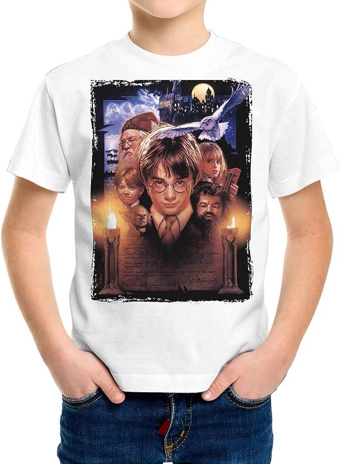 Camiseta Niño - Unisex Cine Harry Potter: Amazon.es: Ropa y ...