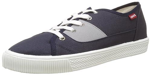 Levi'S - Malibu, Zapatillas Hombre, Azul (Navy Blue 2), 44 EU