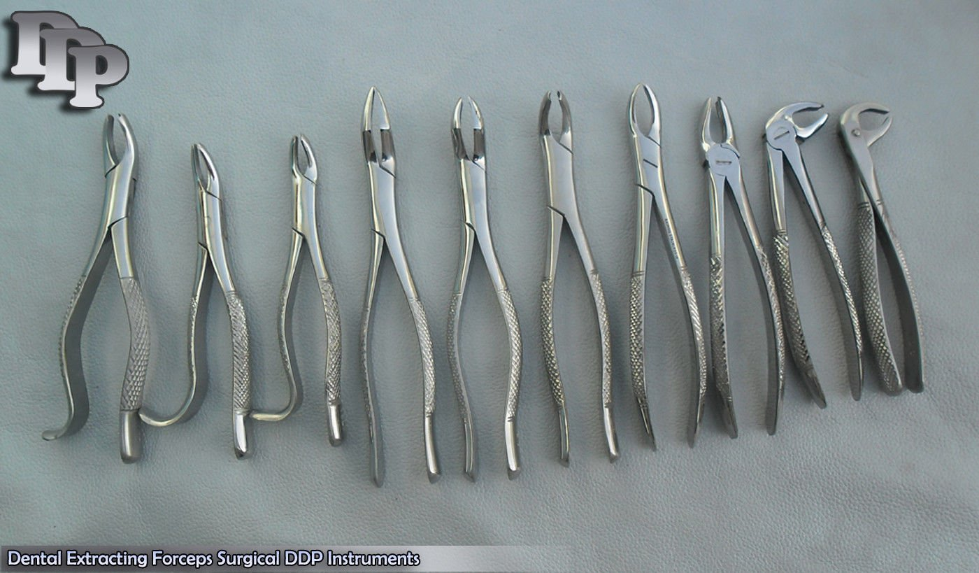 60 New Extracting Forceps Extraction Dental DDP