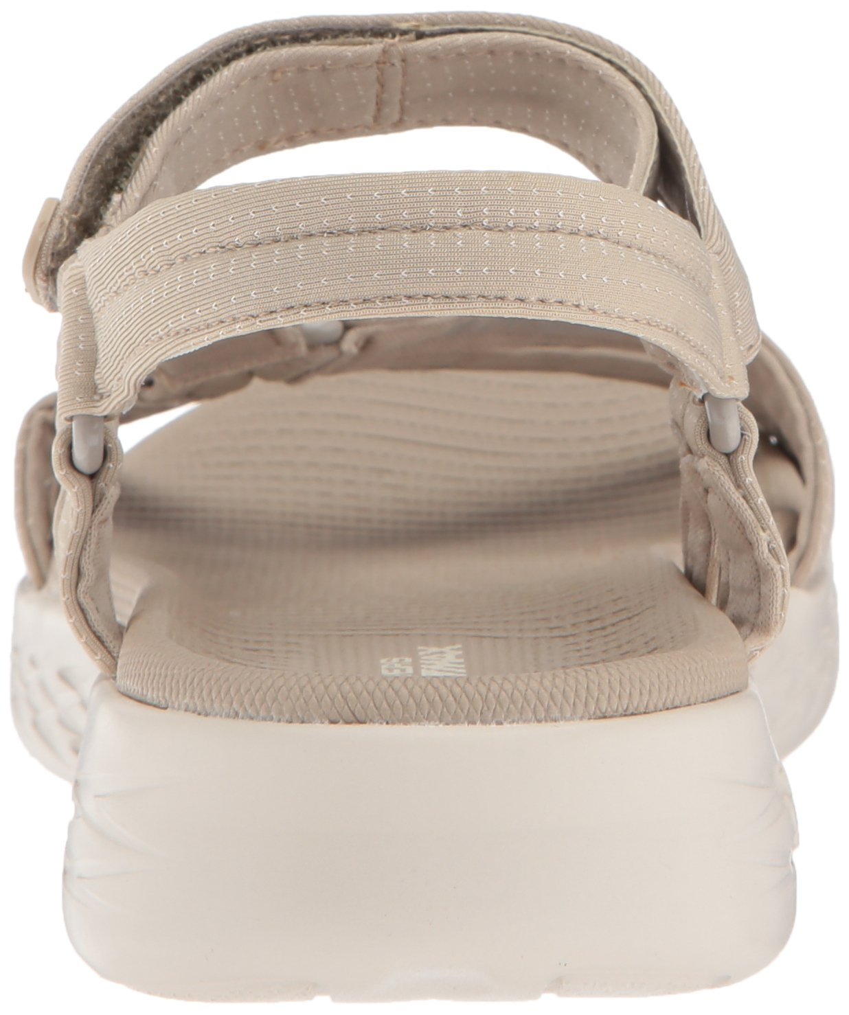 Skechers Women's on-The-Go 600-Brilliancy Sport Sandal B072T34MZY 7 B(M) US|Natural