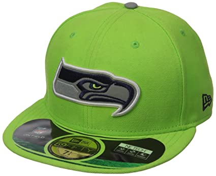 New Era Nfl 59fifty Men s Hat Thanksgiving Series Fitted Cap Seattle  Seahawks Green (7 1 0f6aa5850fa7