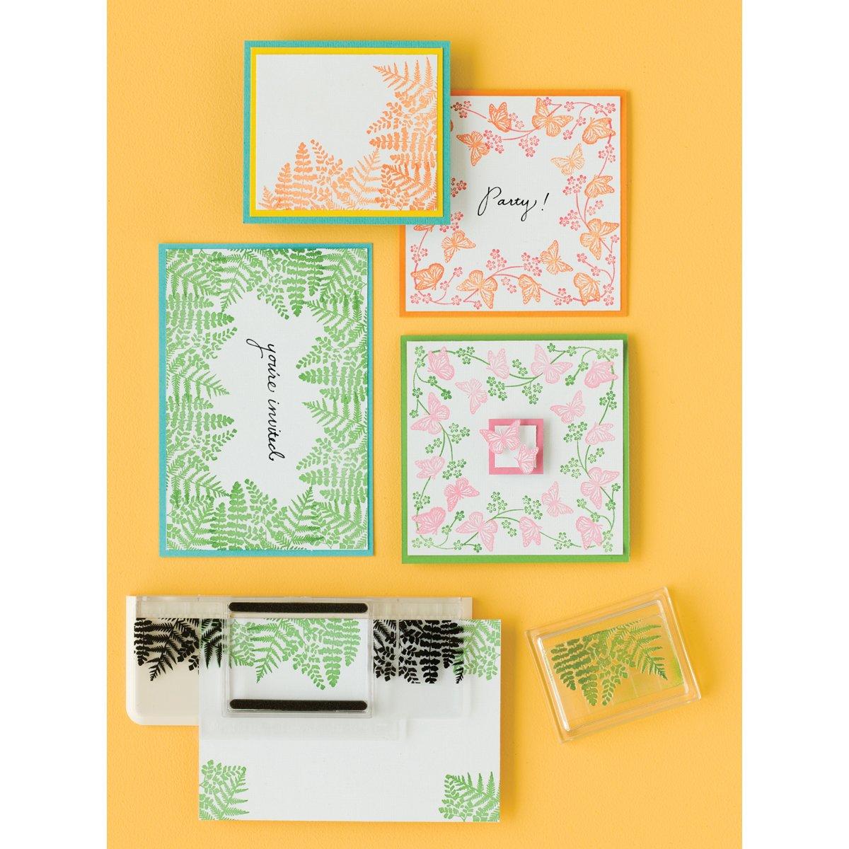 Martha Stewart Crafts Around the Page Starter Set Stamp 40-24022