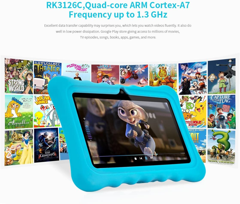 Ainol Q88 Tablet para Niños,Android 7.1, 1GB RAM + 16GB ROM ...