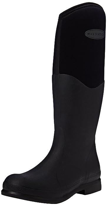 Muck Boots Unisex-Erwachsene Colt Ryder Gummistiefel, Schwarz (Black/Black), 39/40 EU