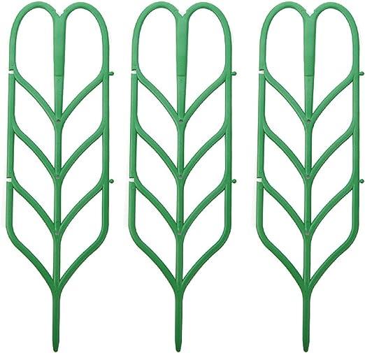 3pcs Mini Bricolaje Hoja Forma JardíN Enrejado Plantas Macetas ...