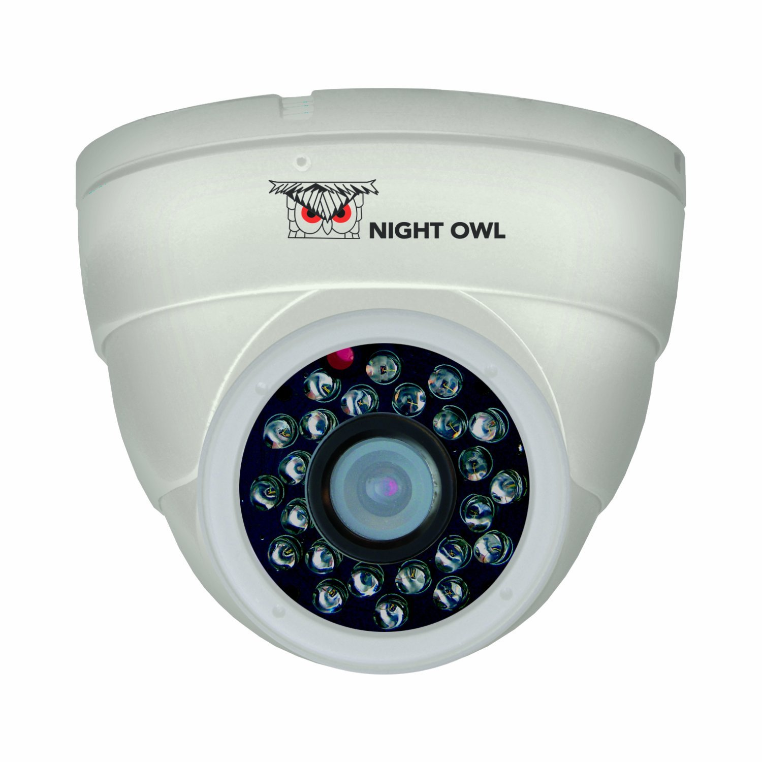 Night Owl Security CAM-DM624-W Hi-Resolution 600 TVL Security Dome Camera with 50-Feet of Night Vision (White) [並行輸入品] B01JJHHDMW
