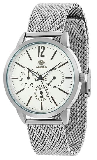 e33ba29f7a6 Reloj Marea Hombre B41177 2 Malla Multifunción  Amazon.es  Relojes