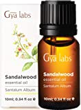 Sandalwood Essential Oil - Reinvigorating Cleanser for Refined, Balanced Beauty (10ml) - 100% Pure Therapeutic Grade Sandalwood Oil