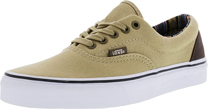 33eda341dc2105 Vans Era (Indo Pacific) Khaki True White Skate Shoes (8 B(M) US ...