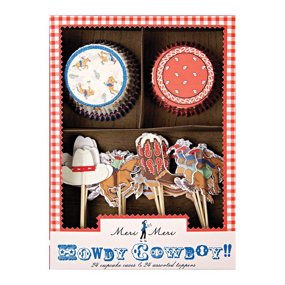 Meri Meri Howdy Cowboy Cupcake Kit