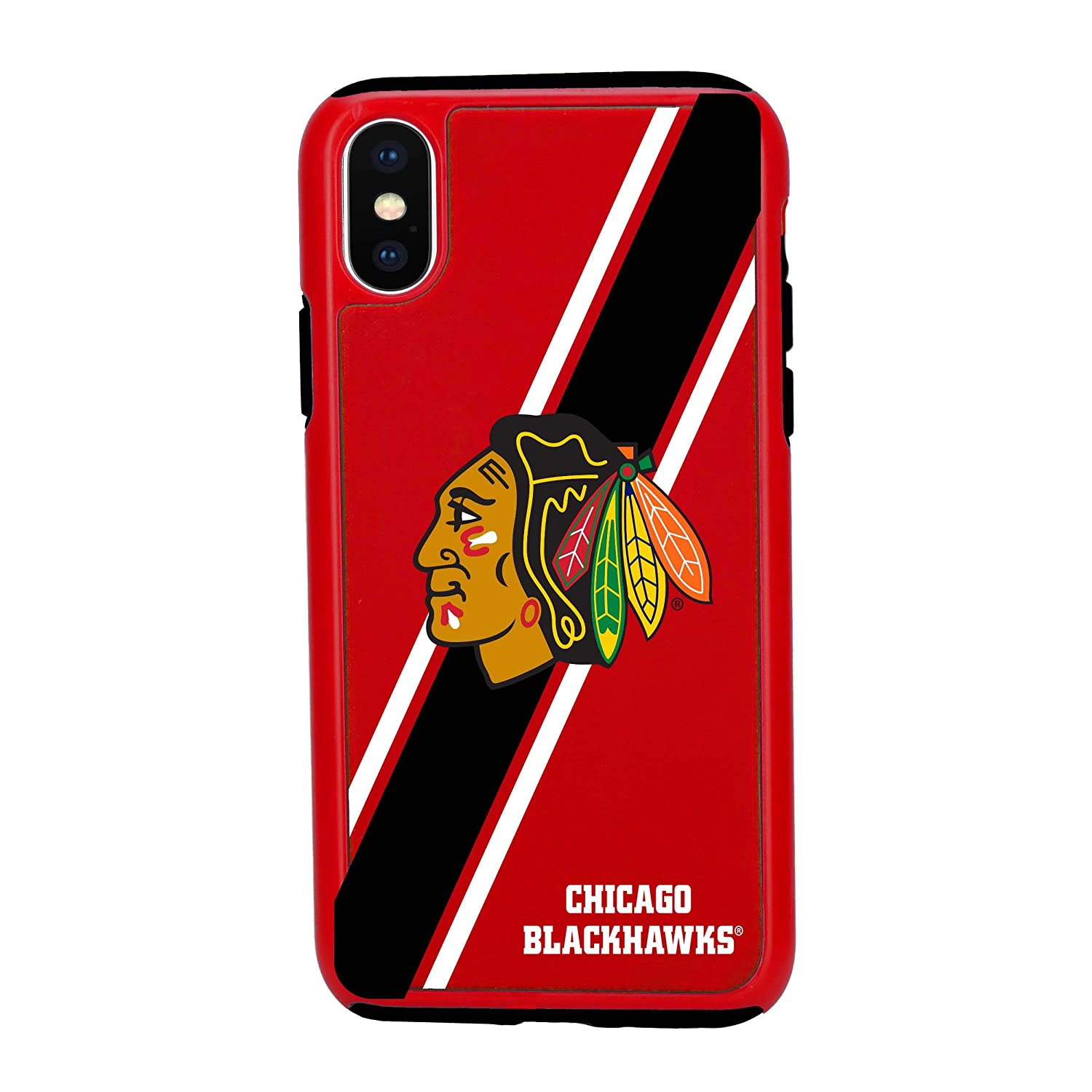 6.1inch Forever Collectibles Impact Series Dual Layered Case for NHL iPhone XR
