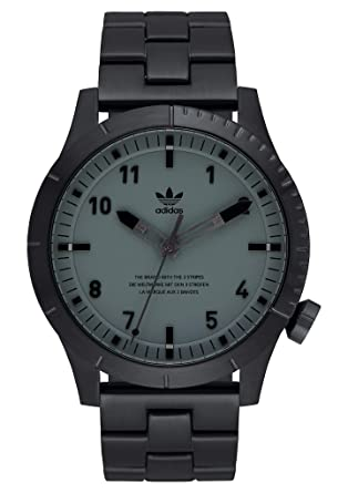 6bc6da12de0c8 Amazon.com: adidas Watches Cypher_M1. Men's 3 Link Solid Stainless ...