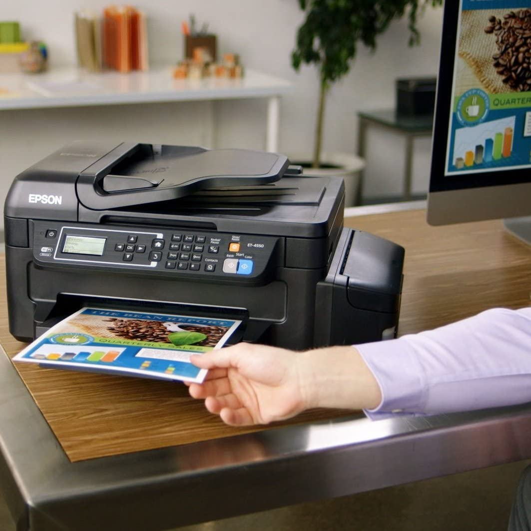 Epson EcoTank ET-4500 5760 x 1440DPI Inyección de Tinta A4 33ppm ...