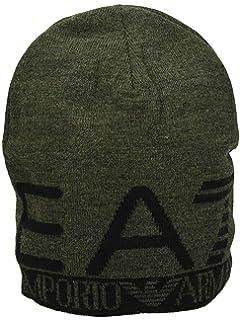 Emporio Armani EA7 Train Visibility Printed Black Beanie Hat L ... c2765ff1cee9