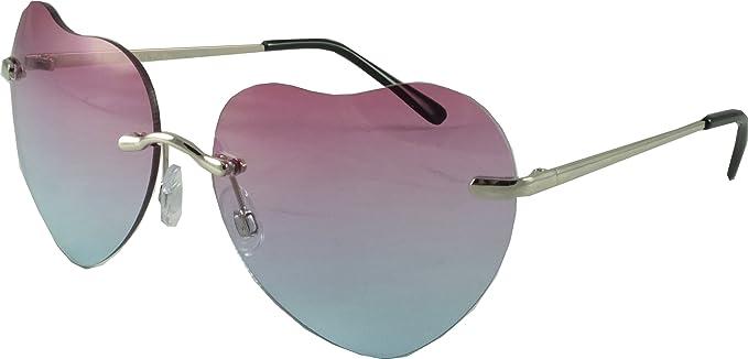 Amazon.com: Revive anteojos con forma de corazón de hombres ...