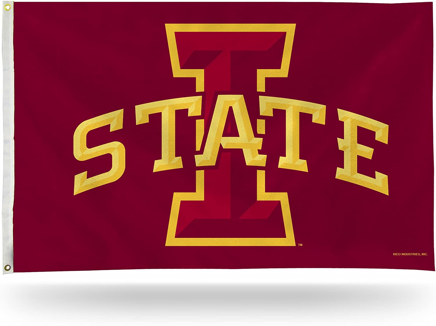 NCAA Iowa State Cyclones 3-Foot by 5-Foot Single Sided Banner Flag with Grommets