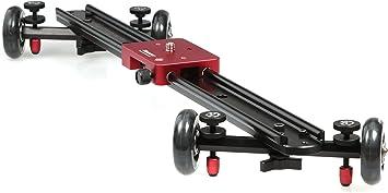 Kamerar 23 Video Camera Slider Rail Track Slider Stabilizer Linear Stabilization Rail System for SLR//DSLR Cameras Camcorders Video Photography