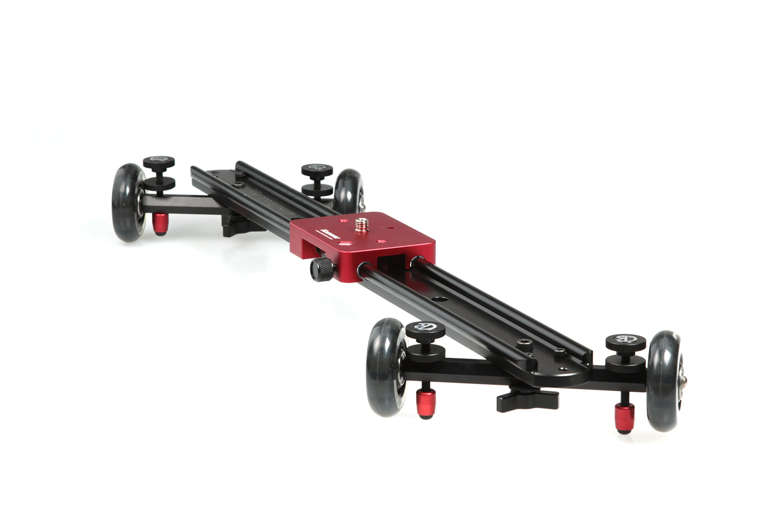 KAMERAR SD-1 23'' DSLR CAMERA SLIDER DOLLY TRACK VIDEO STABILIZER SYSTEM W/ WHEEL