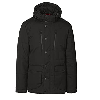 ID Mens Padded Smart Winter Parka Jacket at Amazon Men's Clothing ...