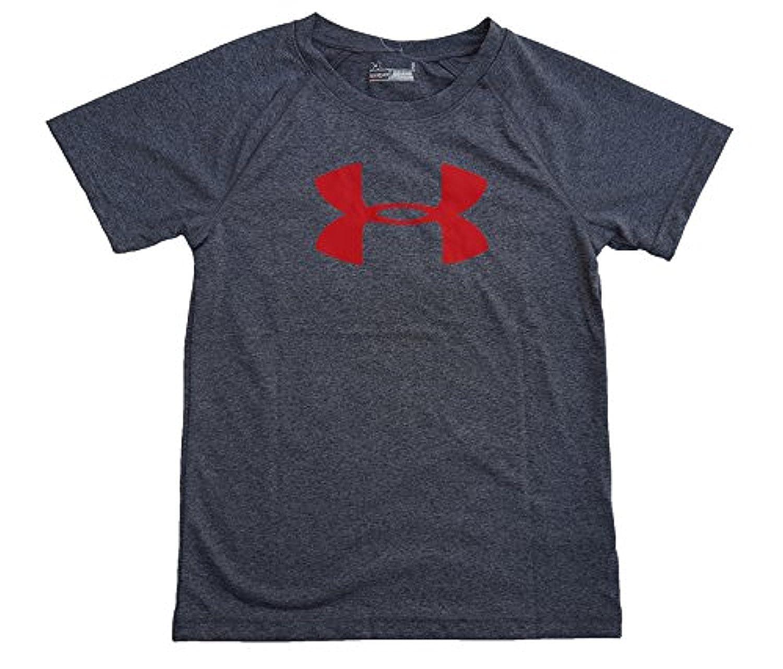 Under Armour Youth HeatGear Big Logo Short Sleeve T-Shirt