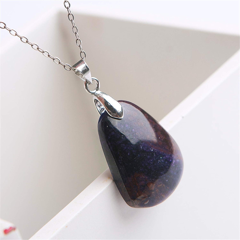 Jewelry Pendant Natural Sugilite Purple Crystal Gemstone Beads