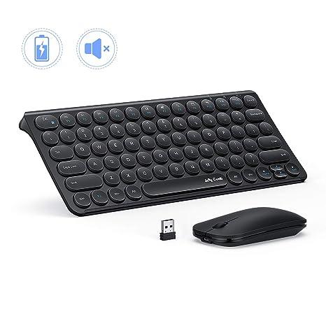 Amazon.com: Jelly Comb - Teclado y ratón inalámbrico ...
