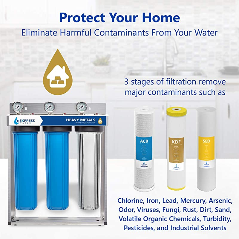 Express Water WH300SCKS Water Filter 3 stages
