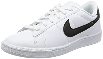 cheaper deb64 fa65e Nike Women s WMNS Tennis Classic SI Low-Top Sneakers, White (White Black