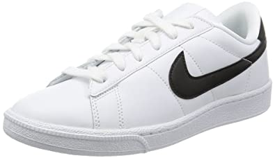 premium selection 4b943 0cf89 Nike Womenâ€s WMNS Tennis Classic SI Low-Top Sneakers, White (White
