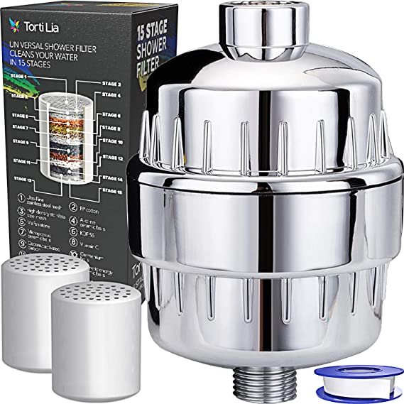 Torti Lia 15 Stage Shower Filter with Vitamin C